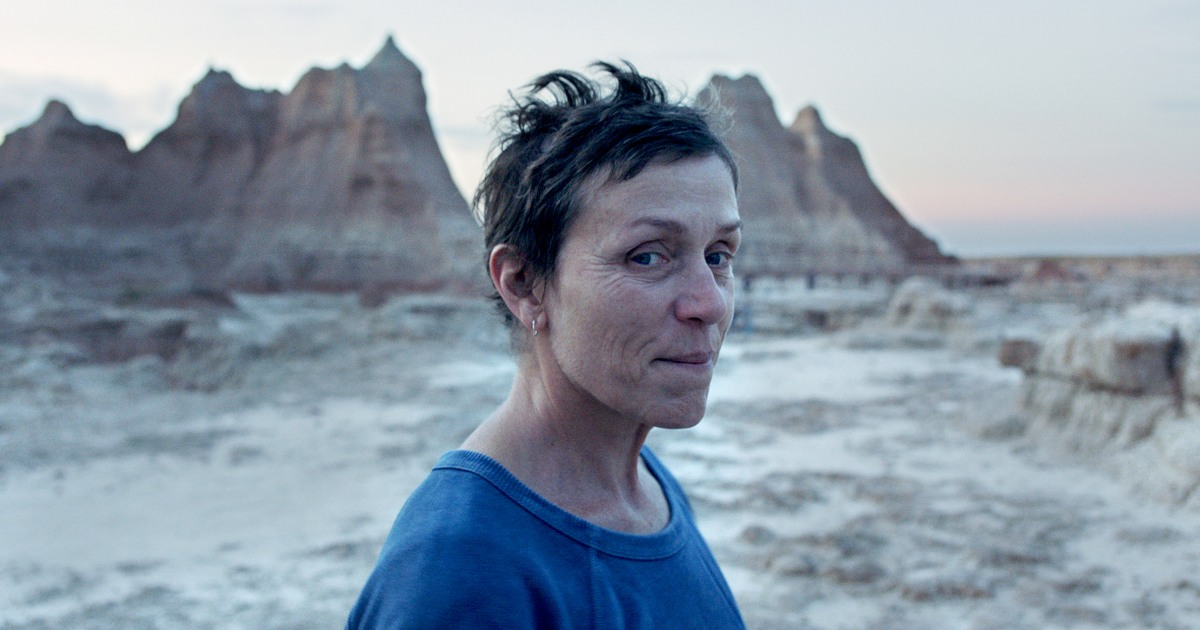 'Nomadland' wins 4 BAFTAs, including for best picture and director Chloé Zhao