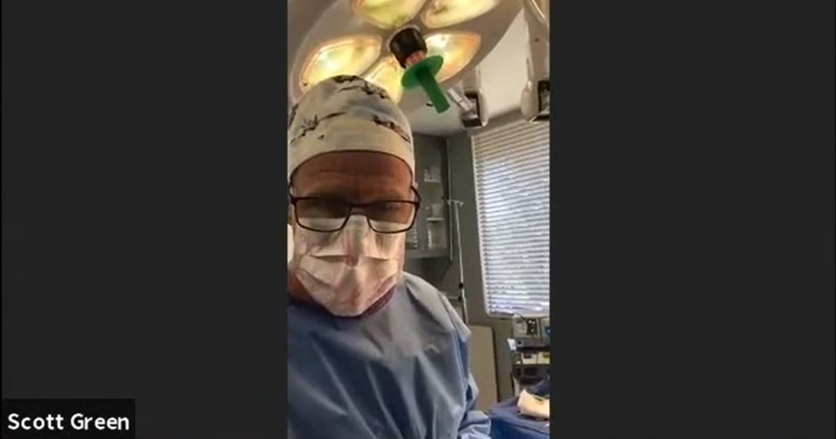 'I'm in an operating room': California doctor performs surgery during Zoom traffic court trial