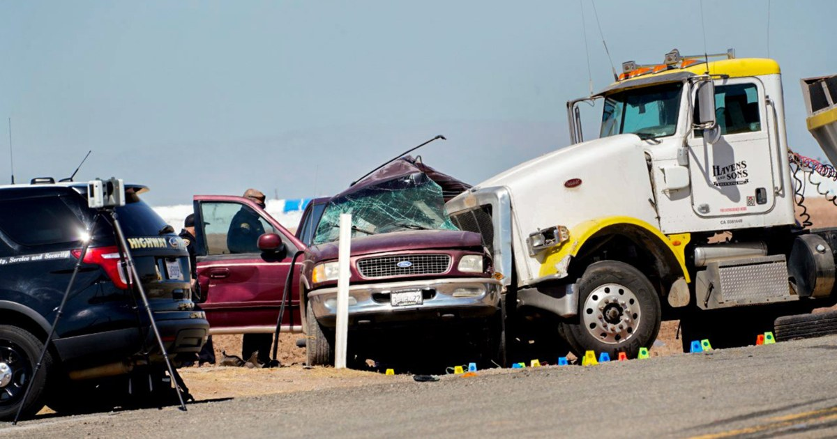 Federal authorities launch human smuggling investigation into deadly California crash