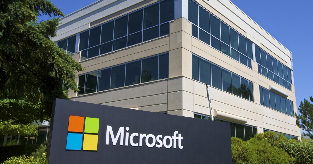 U.S. issues warning after Microsoft says China hacked its mail server program - NBC News