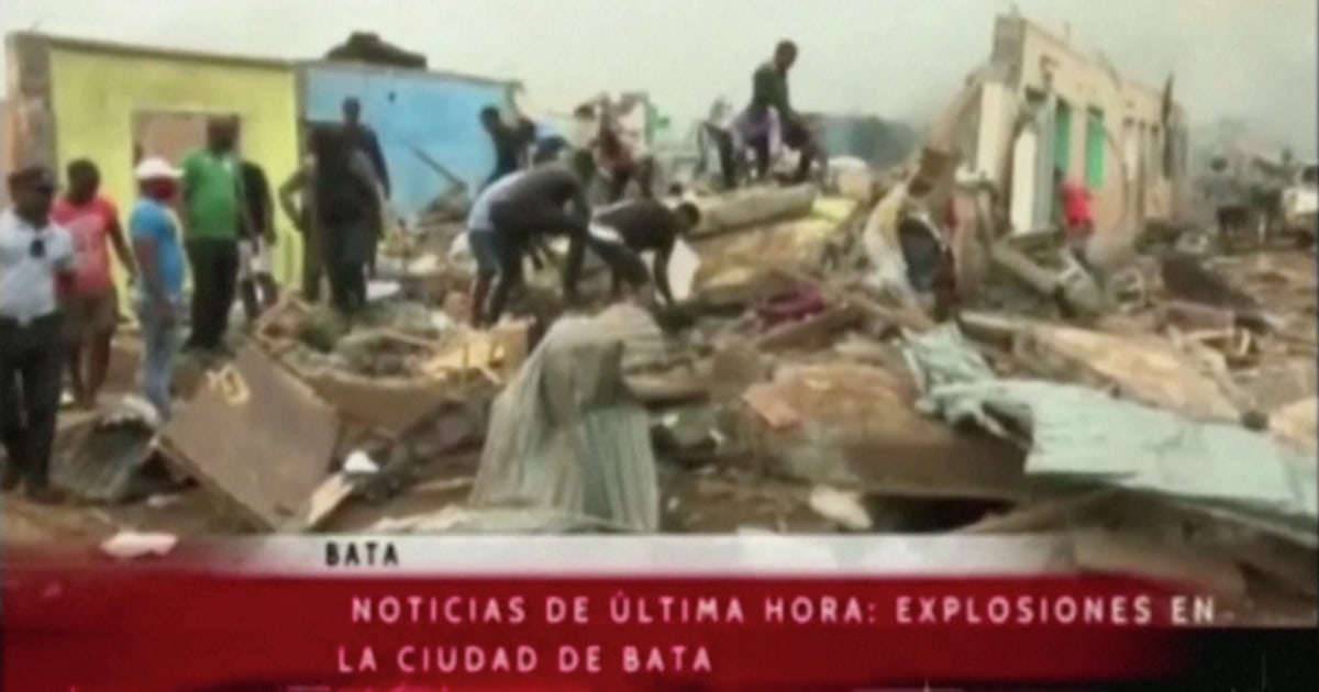 At least 20 dead, 600 wounded in Equatorial Guinea blasts - NBC News