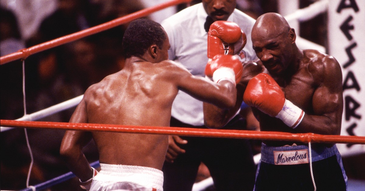 Middleweight boxer Marvin Hagler dies at 66