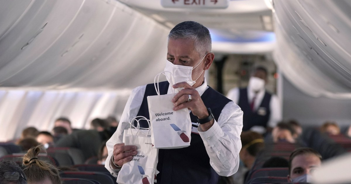 Flight attendants have faced a rough year of health risks, layoffs and anti-maskers