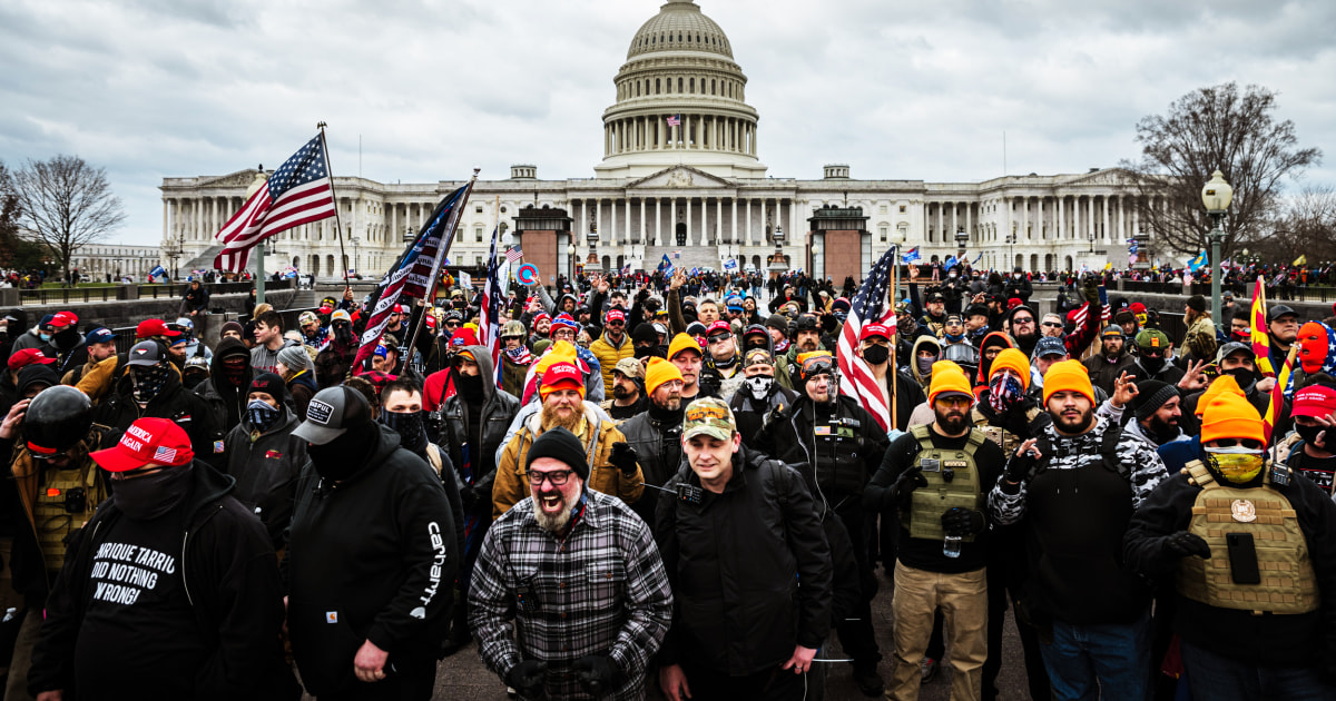 Opinion | The Jan. 6 attack on the Capitol was a race riot