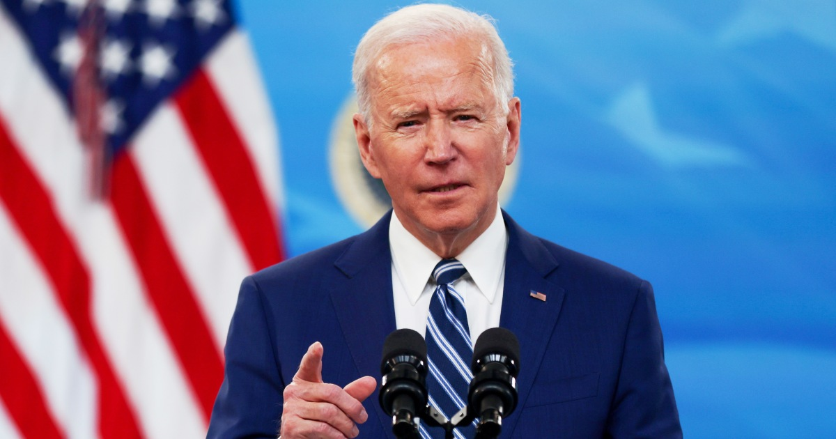 Biden issues first presidential proclamation on Trans Day of Visibility