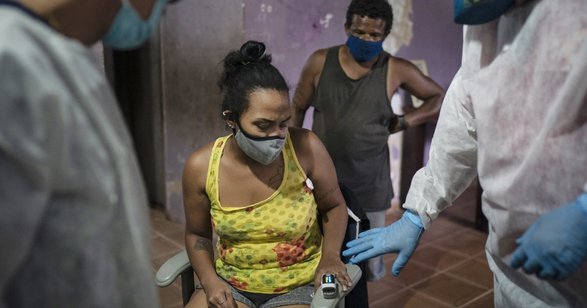 Covid deaths reach 4000 a day in Brazil bringing hospitals to breaking point – NBC News