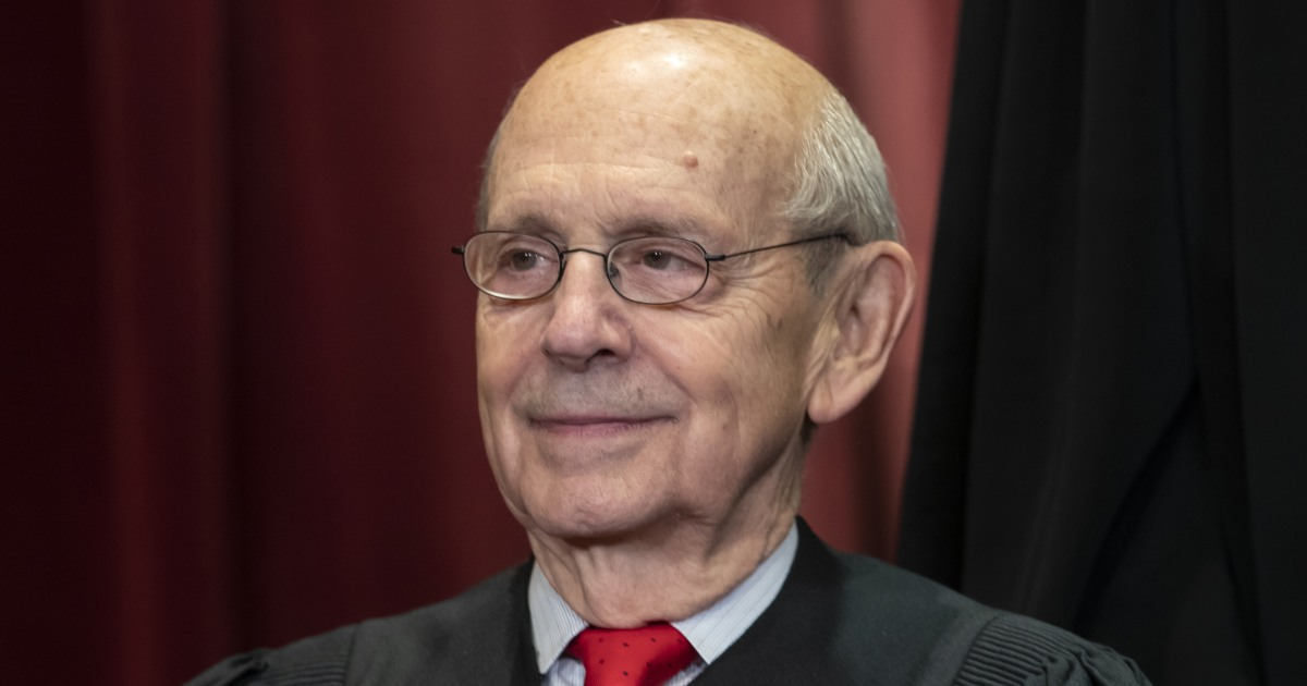 Opinion   I'm convinced — Breyer should resign from the Supreme Court
