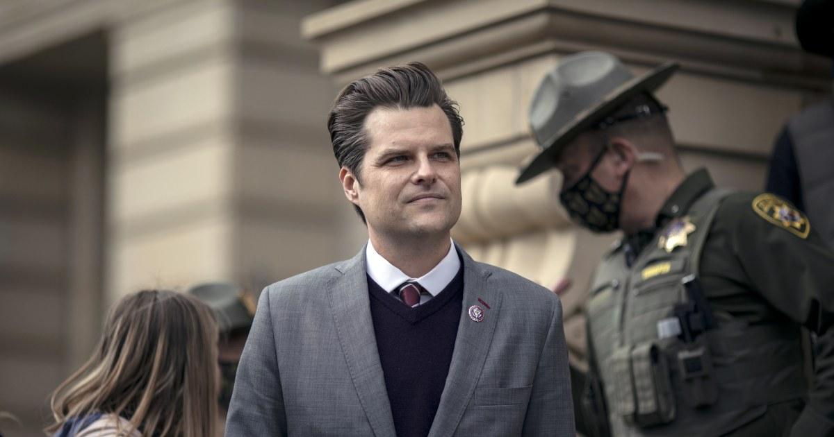 'Matt Gaetz needs to resign' says GOP Rep. Adam Kinzinger – NBC News