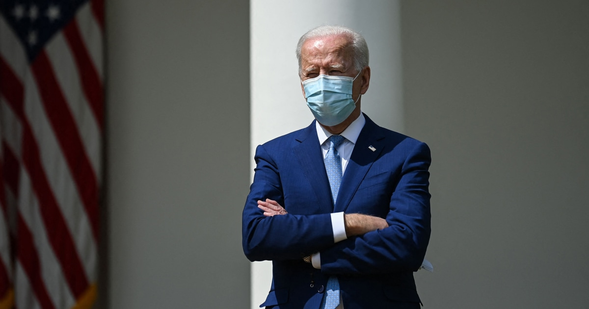 The virus and the border have shaped Biden's first three months