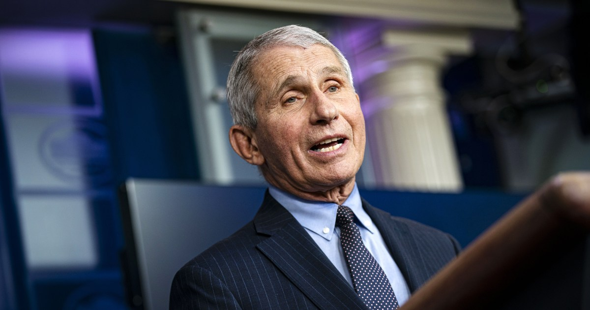 Fauci says pandemic exposed 'undeniable effects of racism' – NBC News