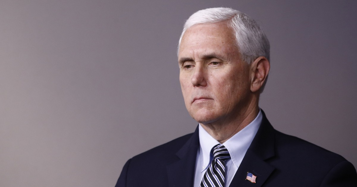 Pence recovering after having pacemaker implanted