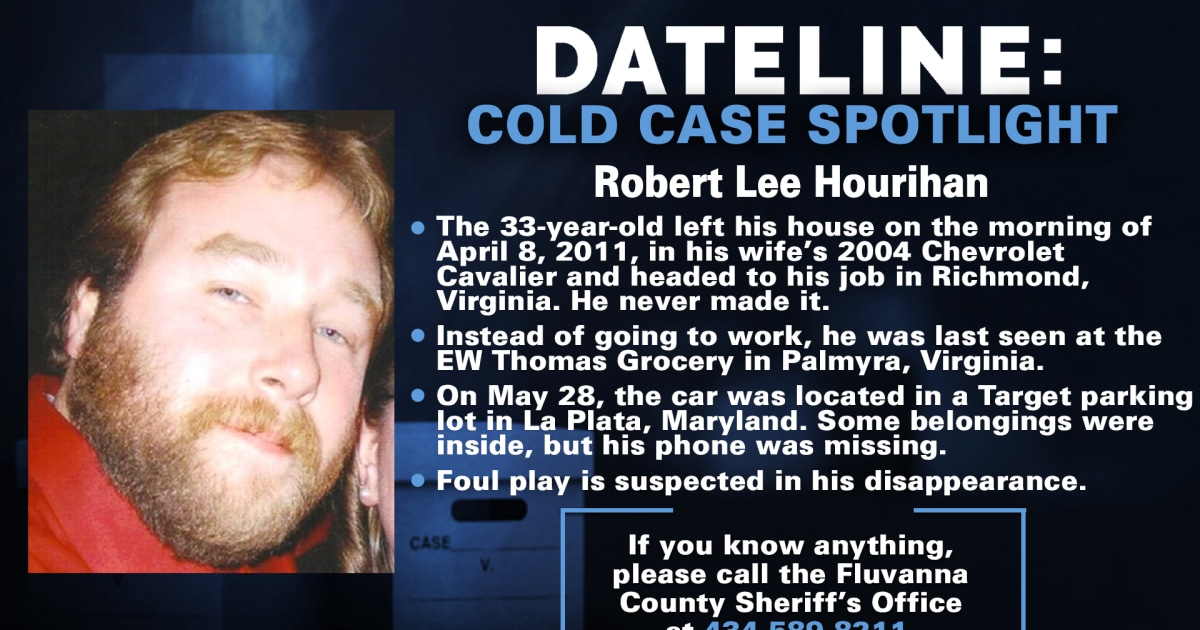Investigation continues into the suspicious disappearance of Virginia man missing for 10 years
