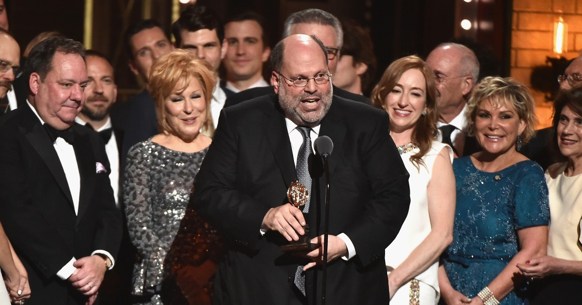 Scott Rudin stepping away from Broadway following workplace allegations