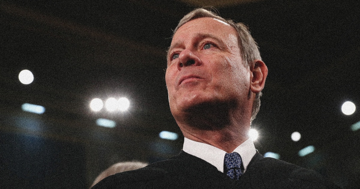 What pushed Chief Justice John Roberts off his conservative tightrope