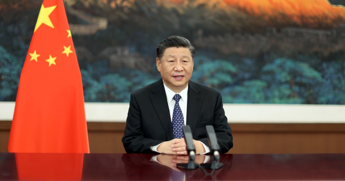 Chinese President Xi to attend Biden's climate change summit