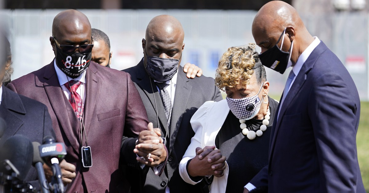 'Tears of joy': Families of Floyd, other victims of police violence react to Chauvin conviction