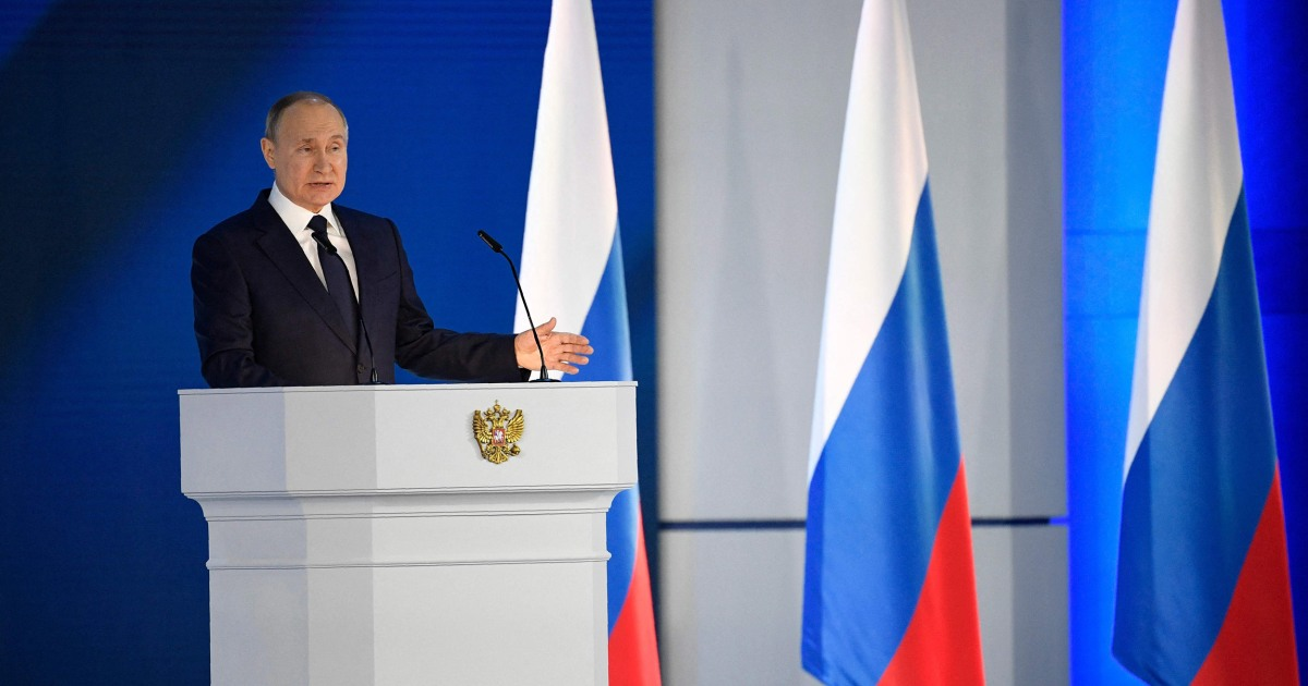 Anyone who crosses Russia 'will come to 'regret' it, Putin warns