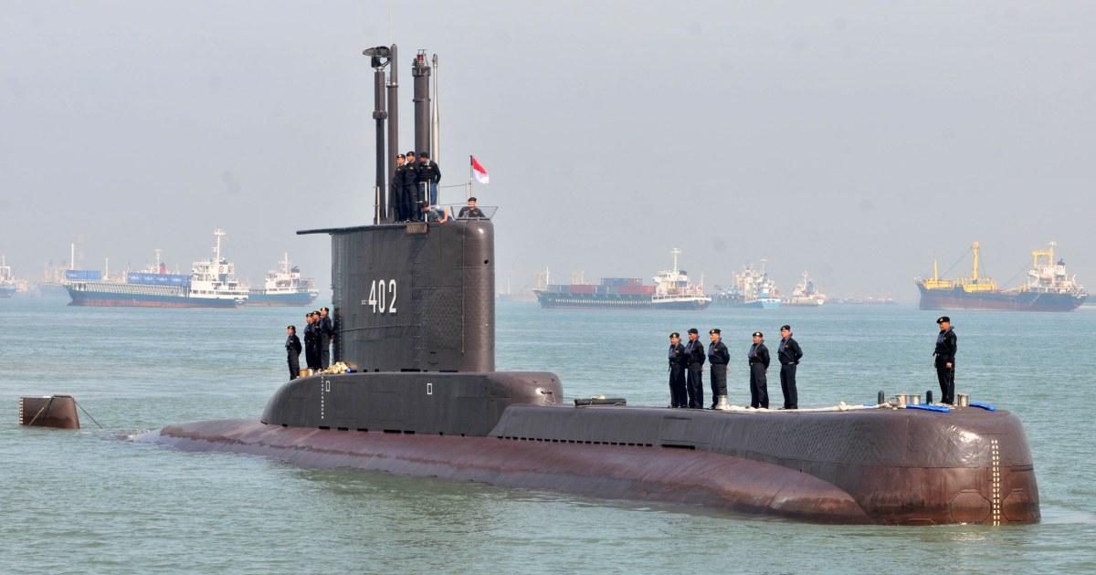 Indonesian submarine: 53 sailors presumed dead as navy says vessel sunk – NBC News