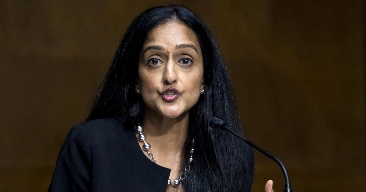 Senate confirms Vanita Gupta for Justice Dept. No. 3 despite broad GOP opposition – NBC News