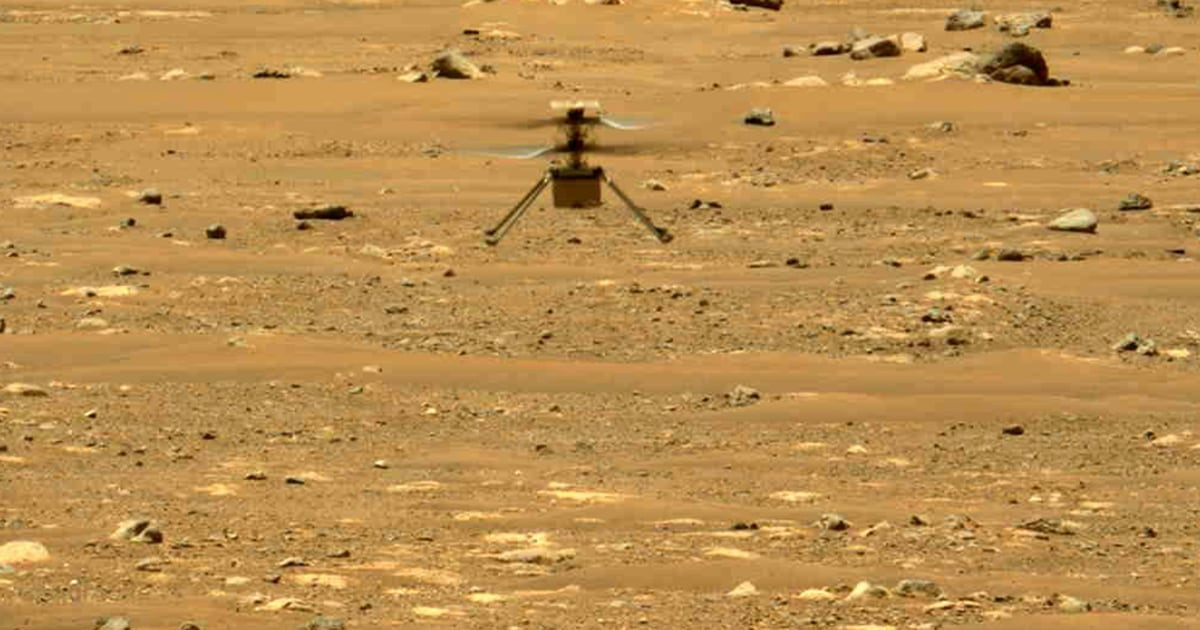 NASA's Mars helicopter goes on wild ride after navigation error – NBC News