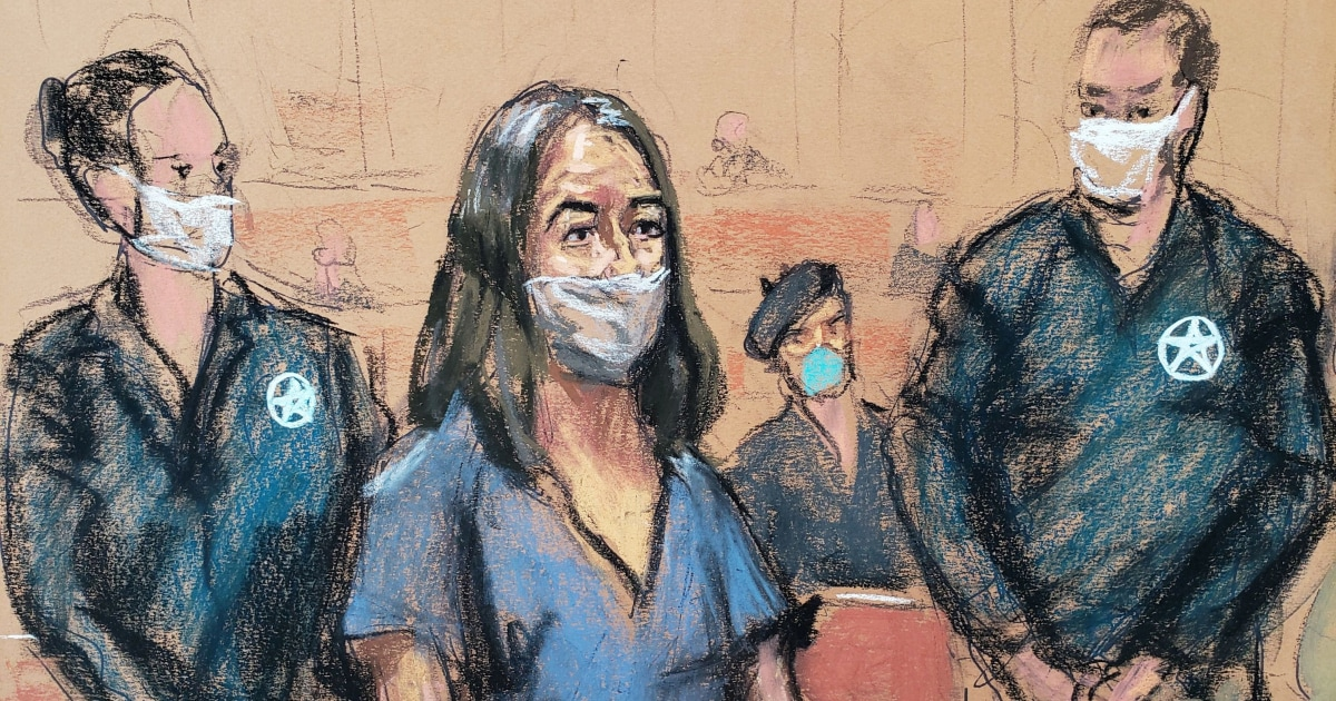 Epstein confidant Ghislaine Maxwell pleads not guilty to new charges – NBC News