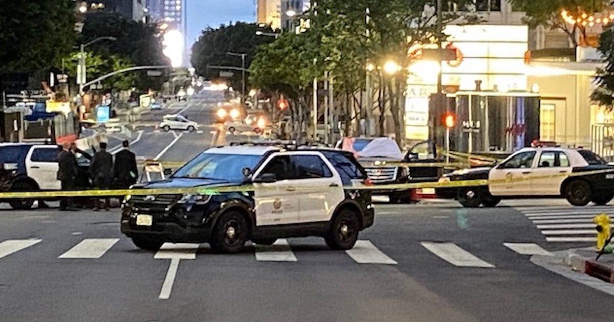 2 dead, 1 injured in L.A. triple shooting; suspect dead after chase, standoff with police - NBC News thumbnail