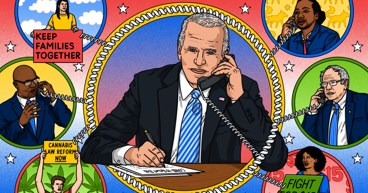 Joe Biden is proving progressives wrong. And they're loving it. – NBC News