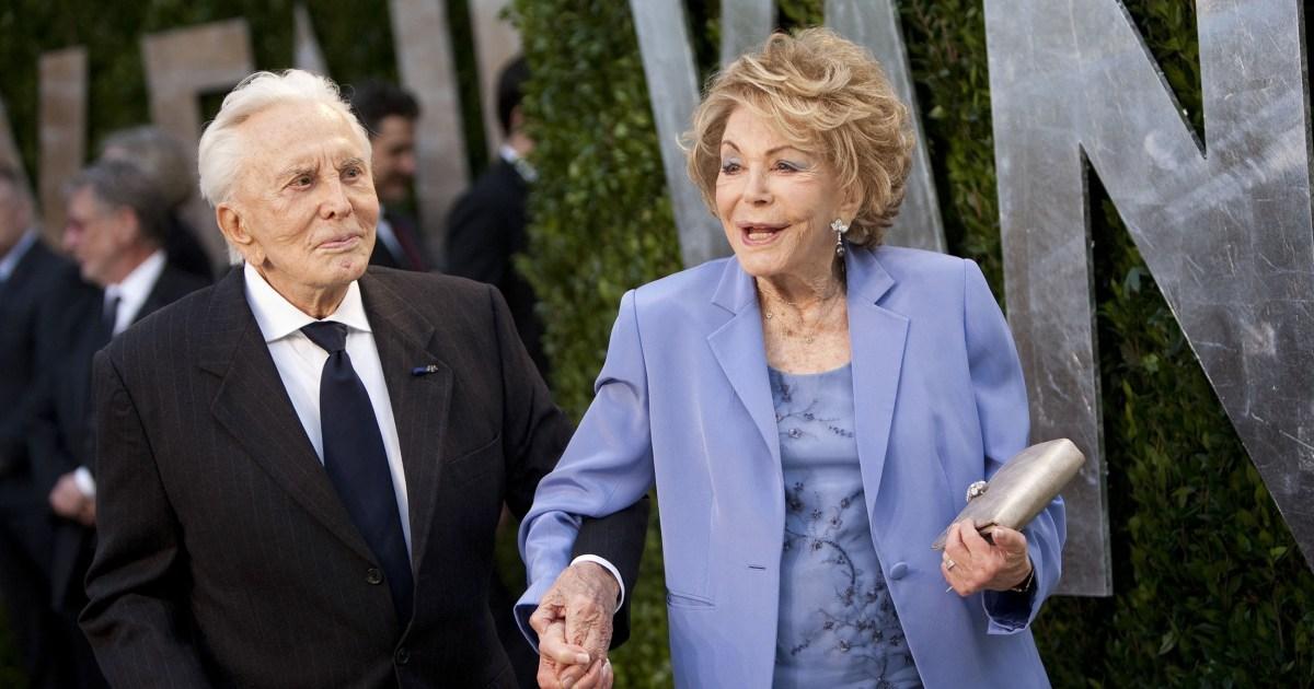 Anne Douglas widow of actor Kirk Douglas dies at 102 – NBC News