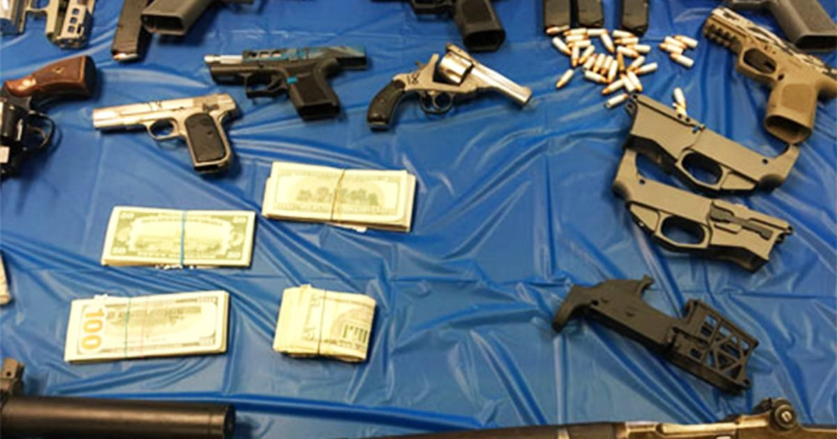 Ghost guns Nazi paraphernalia nearly $1 million of meth seized in Pennsylvania raid – NBC News