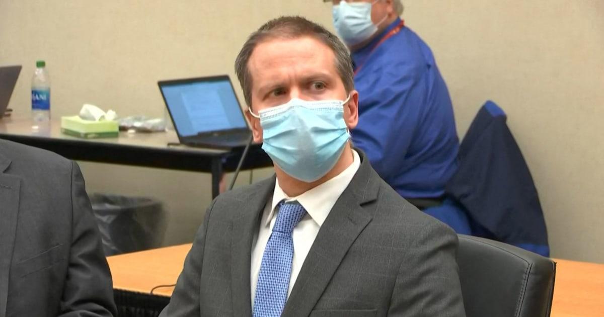 Prosecutors seek 30-year sentence for Derek Chauvin; defense requests probation – NBC News
