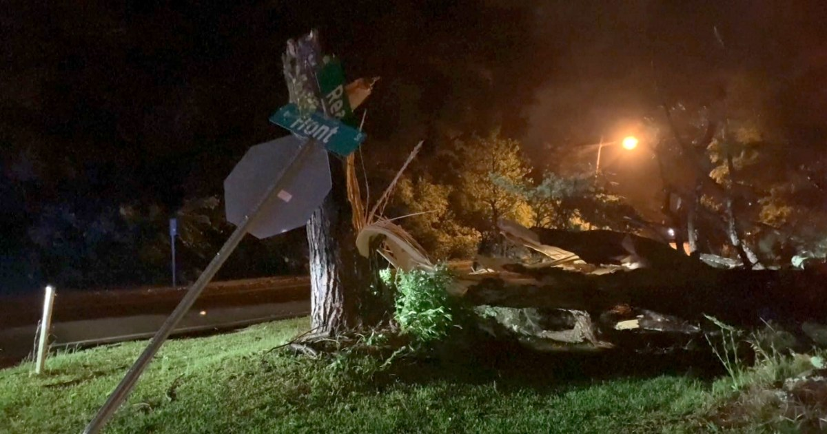 Large and dangerous tornado hit northeastern Mississippi – NBC News
