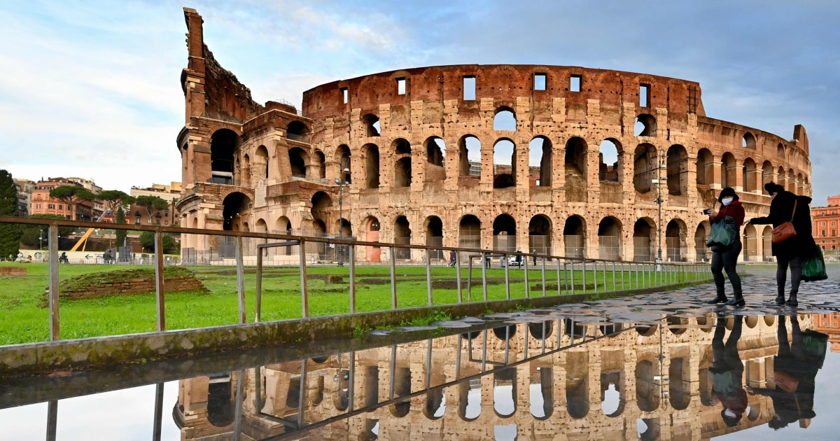 Rome's Colosseum to get $22 million new floor to give tourists a gladiator's view – NBC News