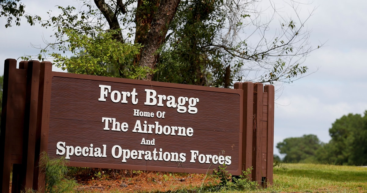 Fort Bragg soldier accused in another's killing
