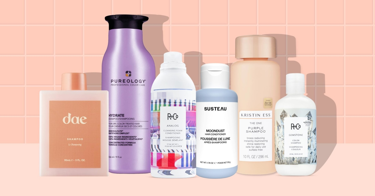 6 best shampoos for color-treated hair in 2021