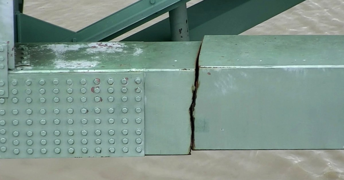 Inspector who failed to catch Mississippi River bridge crack is fired – NBC News