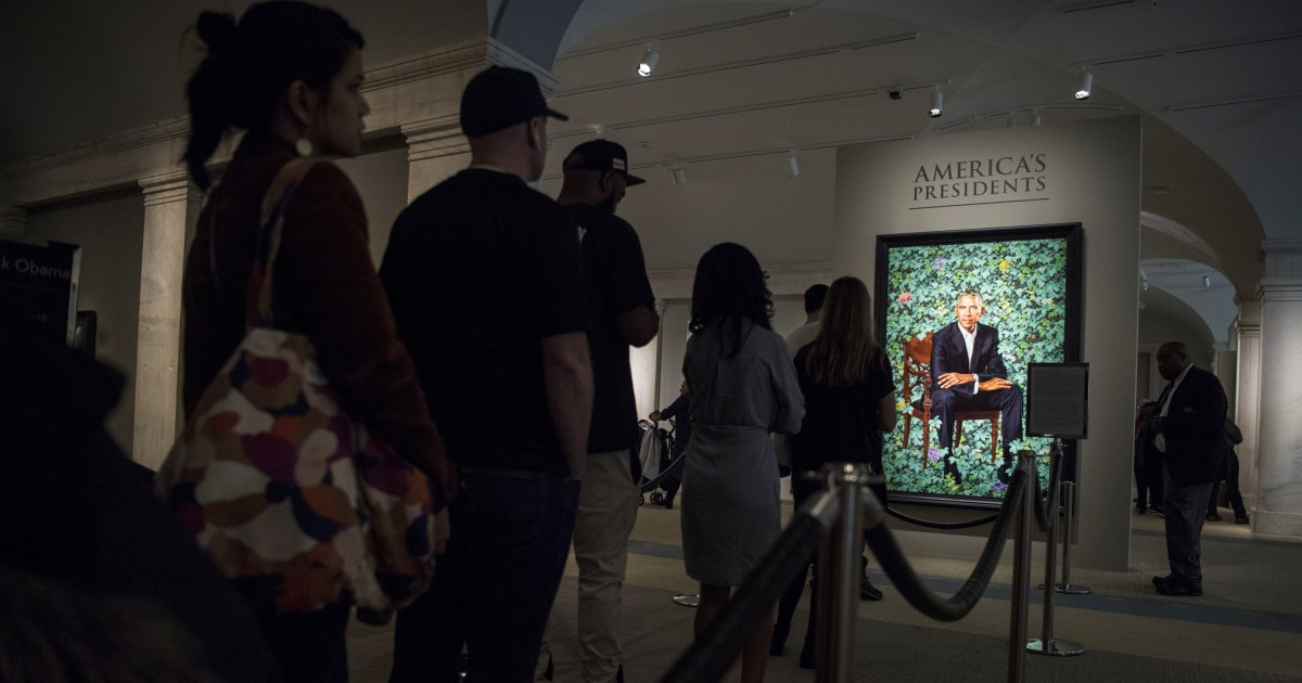 Biden to revive presidential portrait tradition Trump skipped – NBC News