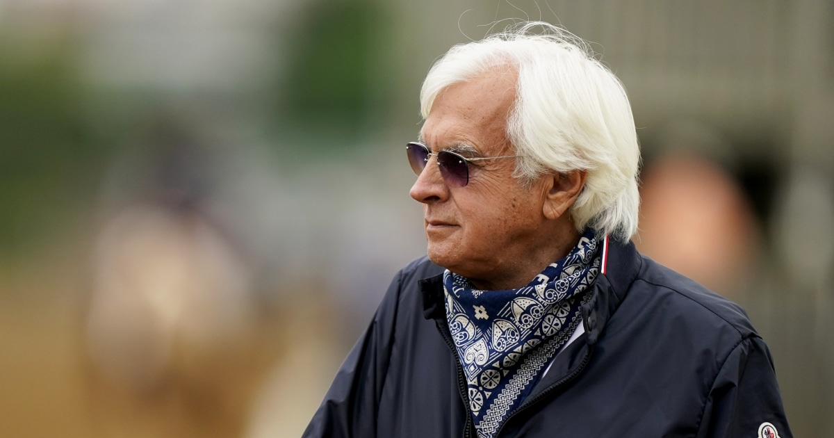 Medina Spirit trainer Bob Baffert suspended from entering horses into Belmont Stakes