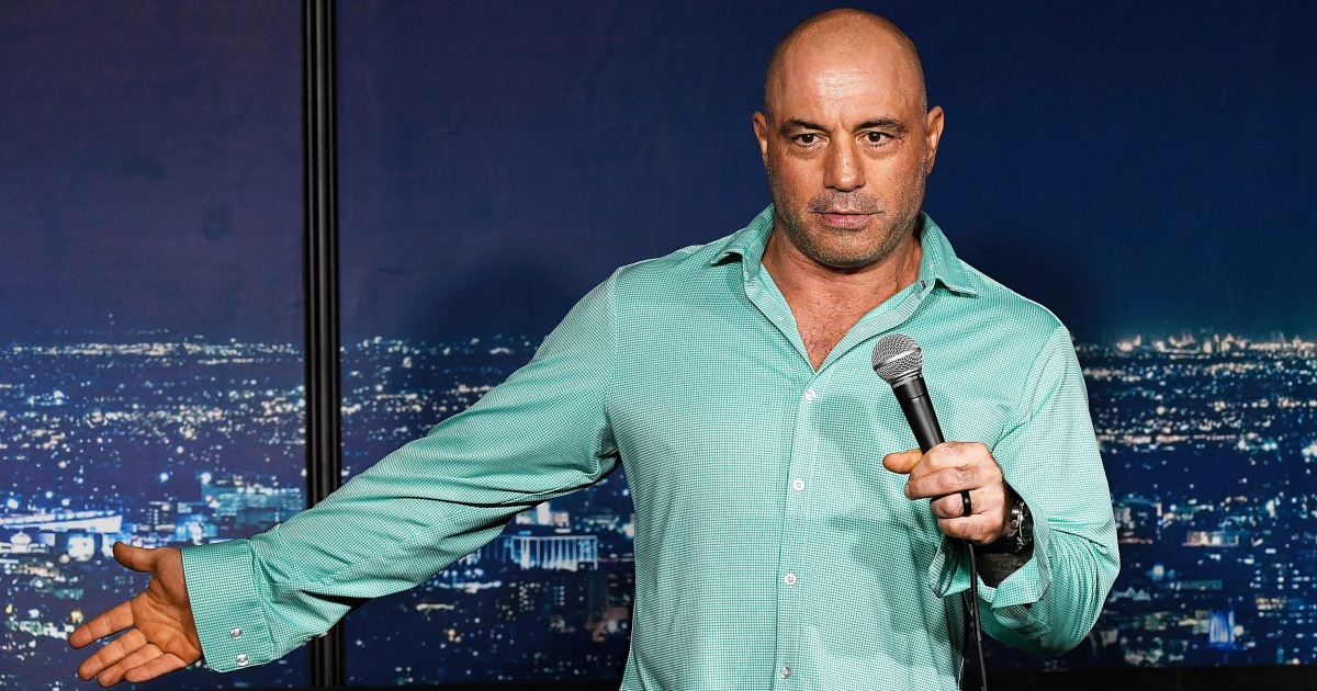 Joe Rogan criticized, mocked after saying straight white men are silenced by 'woke' culture