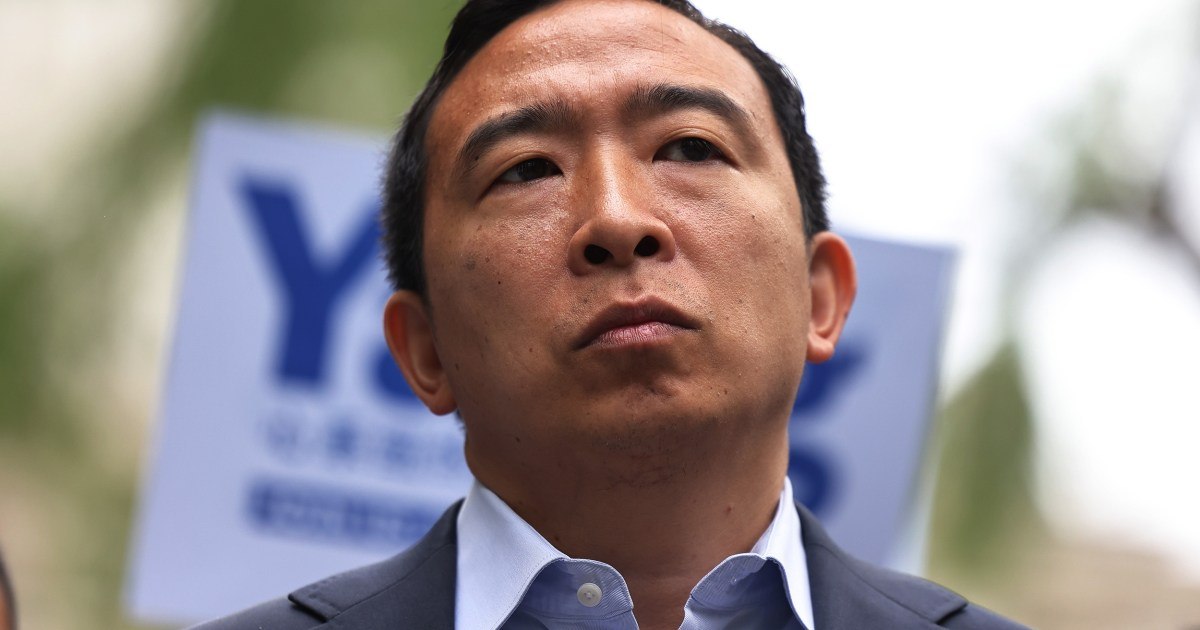 How did such a racist cartoon of Andrew Yang get published in 2021?