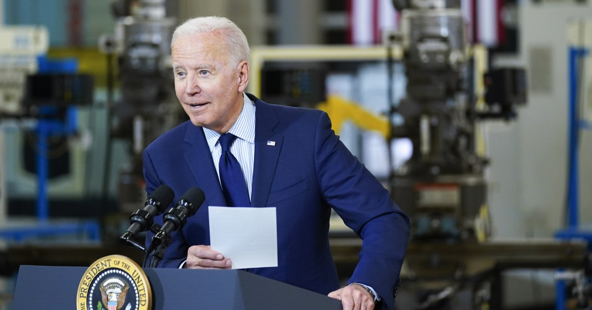 'Some people have no shame': Biden mocks Republicans' embrace of bill they voted against