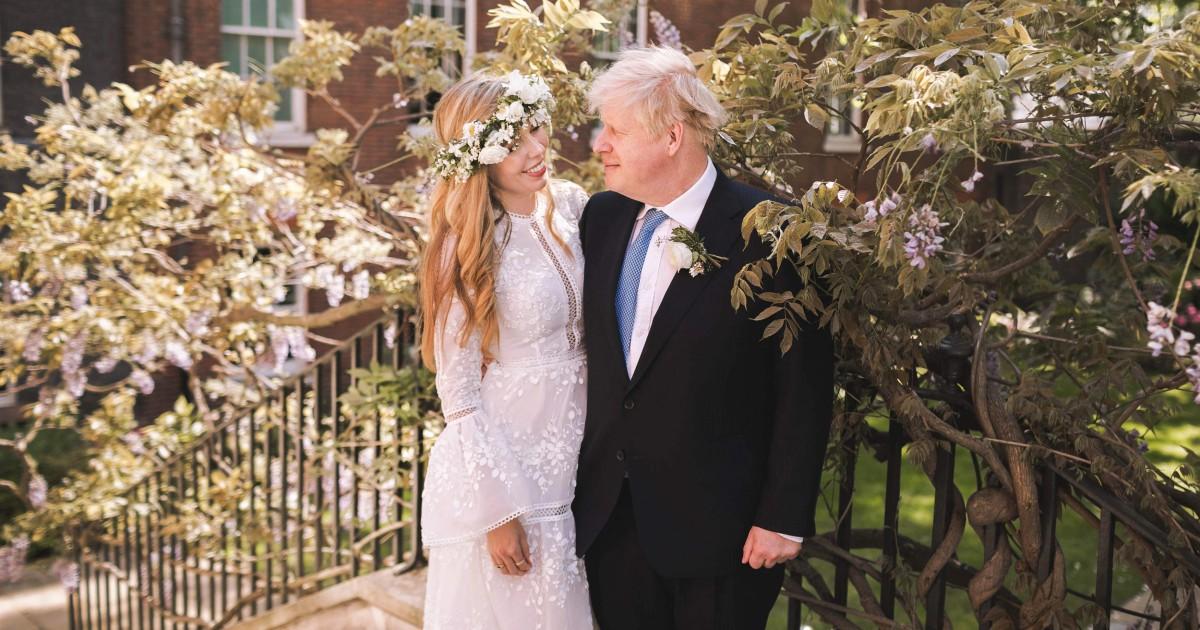 U.K. Prime Minister Boris Johnson marries fiancée in surprise ceremony – NBC News