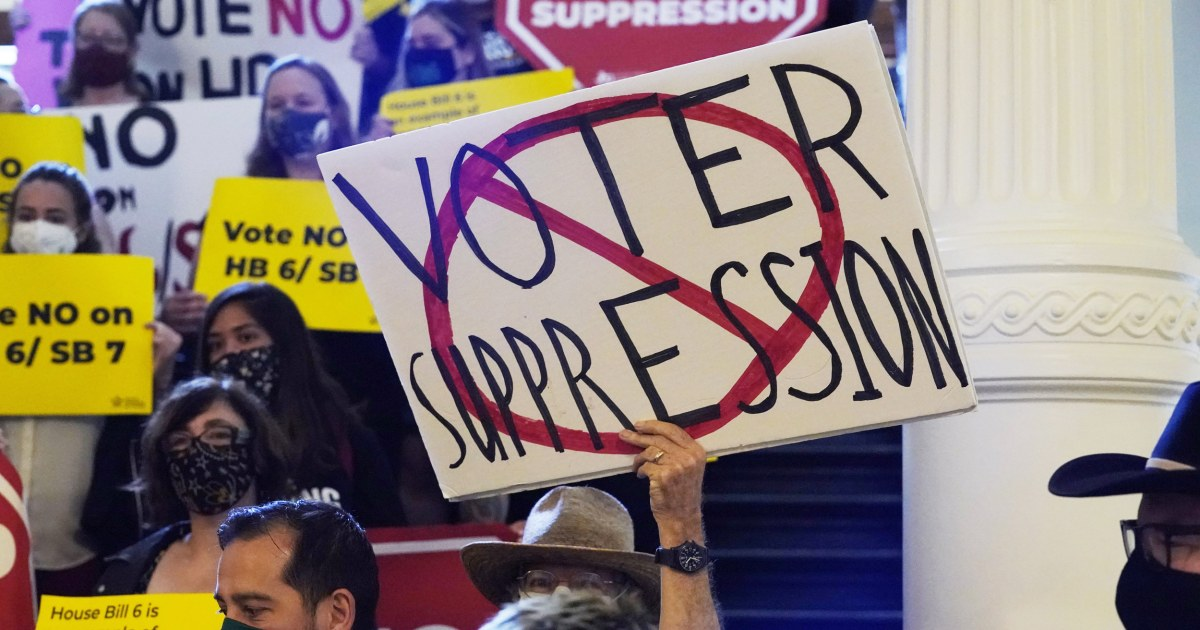 Texas Democrats stage walkout over restrictive voting bill killing it for now – NBC News