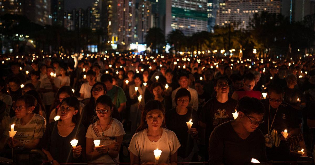 Hong Kong struggles to keep Tiananmen spirit alive as China cracks down – NBC News