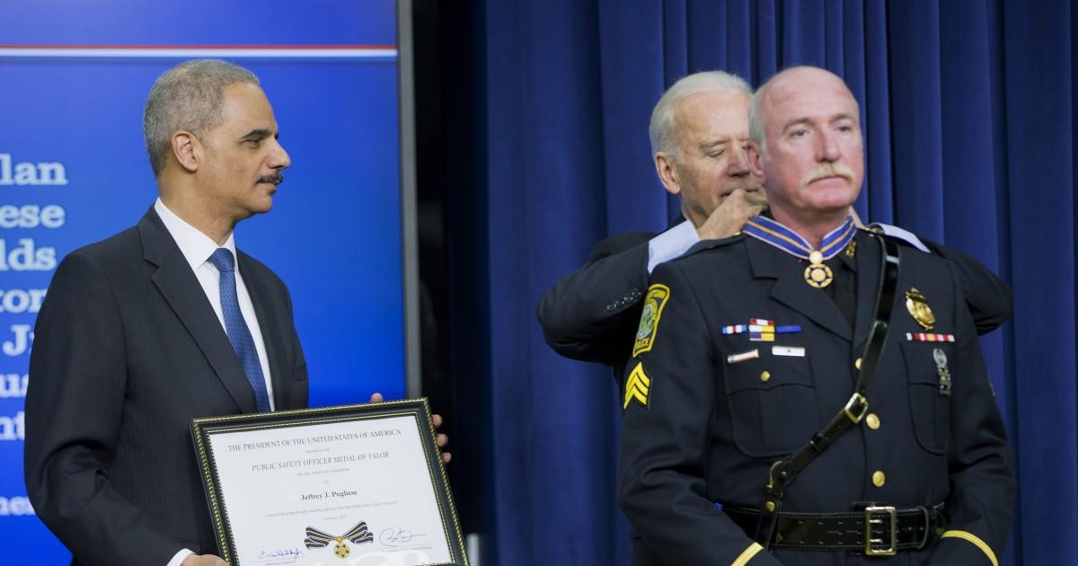 Officer who tackled Boston Marathon bomber retires