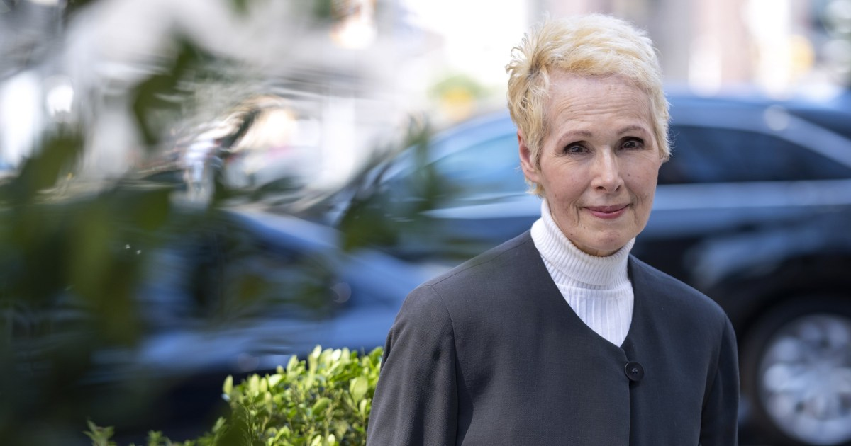 Biden's Justice Department moves to defend Trump in defamation suit from accuser E. Jean Carroll – NBC News