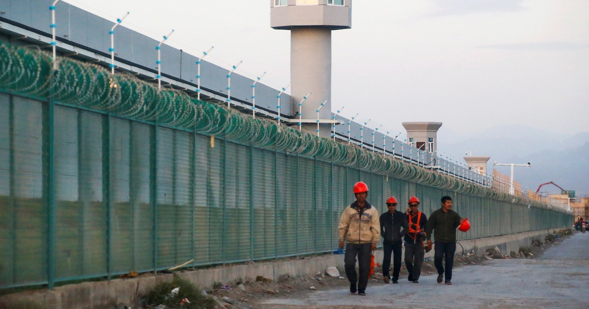 New details of torture cover-ups in China's internment camps revealed in Amnesty International report – NBC News