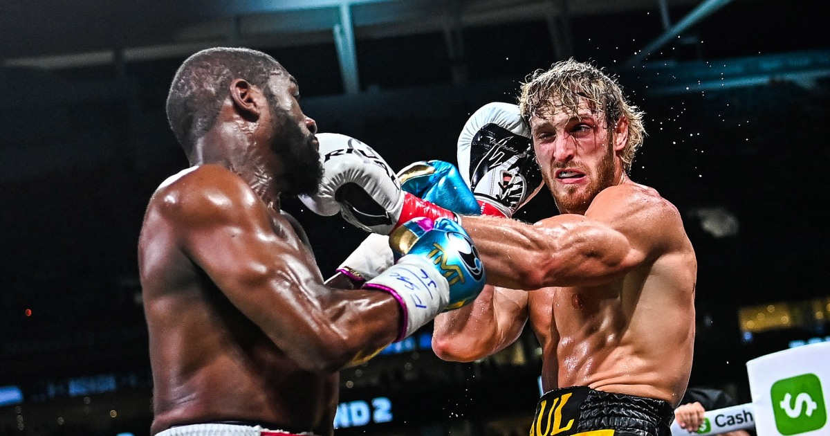 YouTuber Logan Paul goes distance against Mayweather