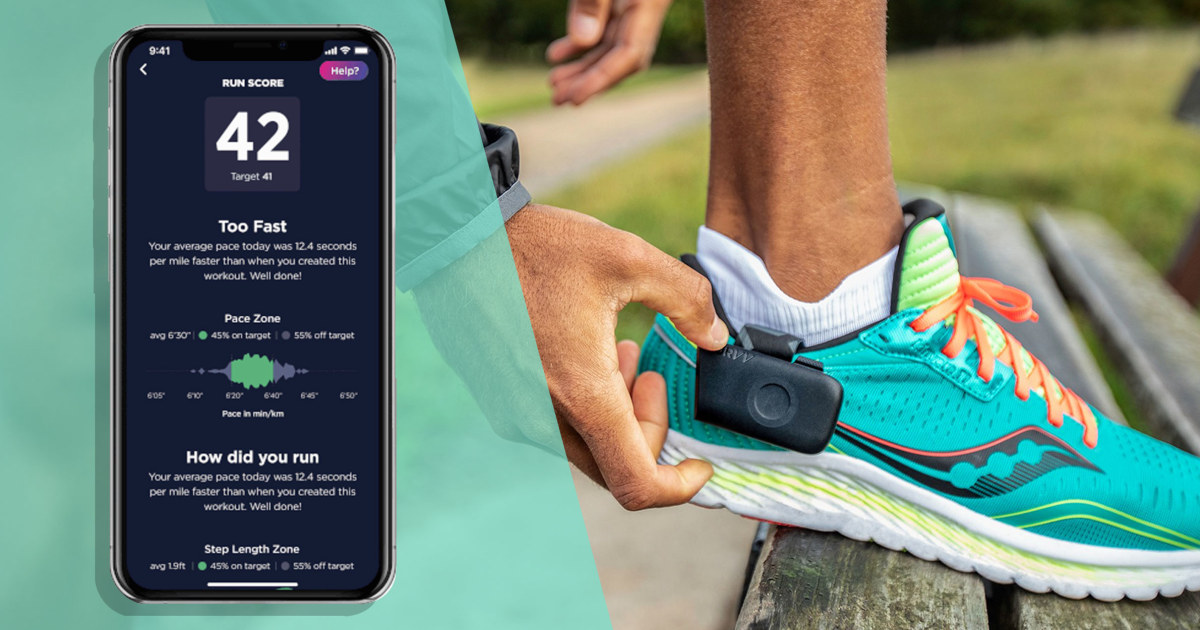 NURVV smart insoles: A new form of wearable running tech
