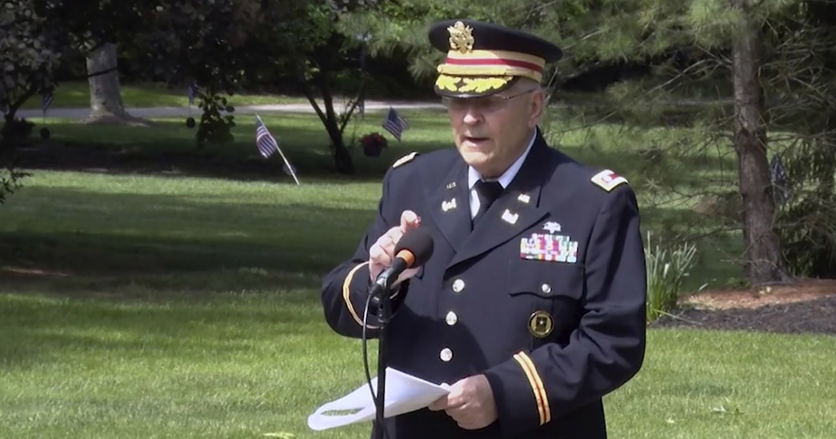 Another official resigns over censored Memorial Day speech – NBC News