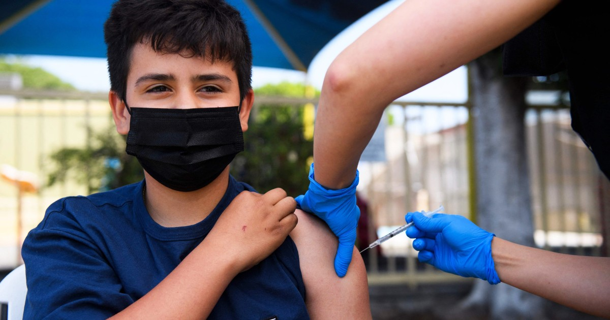 Evidence grows stronger for Covid vaccine link to heart issue CDC says – NBC News